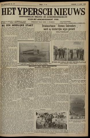 Het Ypersch nieuws (1929-1971) 1968-06-14
