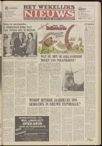 Het Wekelijks Nieuws (1946-1990) 1984-04-13