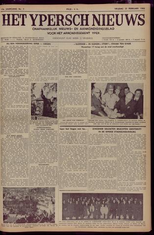 Het Ypersch nieuws (1929-1971) 1966-02-25