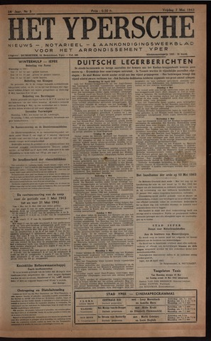 Het Ypersch nieuws (1929-1971) 1943-05-07