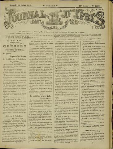 Journal d'Ypres (1874 - 1913) 1898-07-20