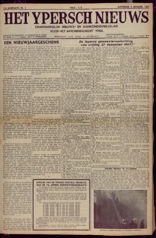Het Ypersch nieuws (1929-1971) 1964-01-04