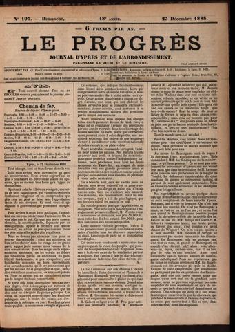 Le Progrès (1841-1914) 1888-12-23