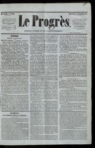 Le Progrès (1841-1914) 1847-02-21