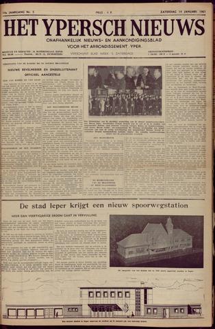 Het Ypersch nieuws (1929-1971) 1961-01-14