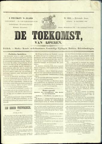De Toekomst (1862 - 1894) 1868-12-27
