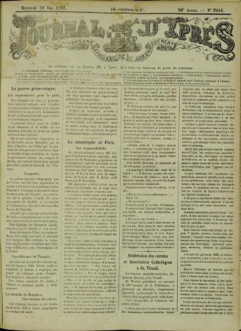 Journal d'Ypres (1874 - 1913) 1897-05-19