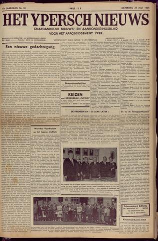 Het Ypersch nieuws (1929-1971) 1964-07-25