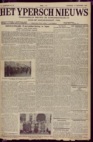 Het Ypersch nieuws (1929-1971) 1960-11-19