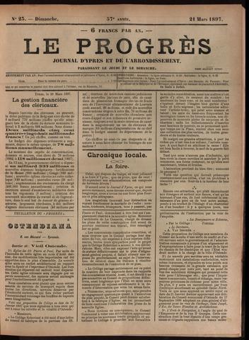 Le Progrès (1841-1914) 1897-03-21