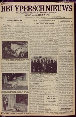 Het Ypersch nieuws (1929-1971) 1962-11-24