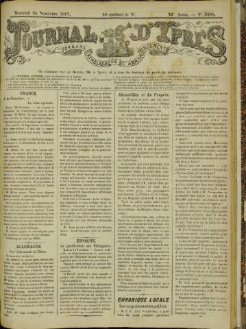Journal d'Ypres (1874 - 1913) 1897-11-24