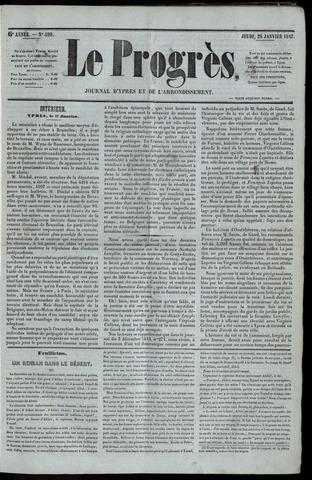 Le Progrès (1841-1914) 1847-01-28