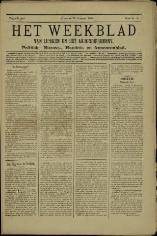 Het weekblad van Ijperen (1886 - 1906) 1894-01-27