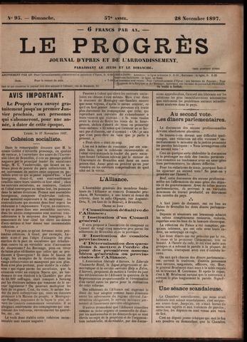 Le Progrès (1841-1914) 1897-11-28