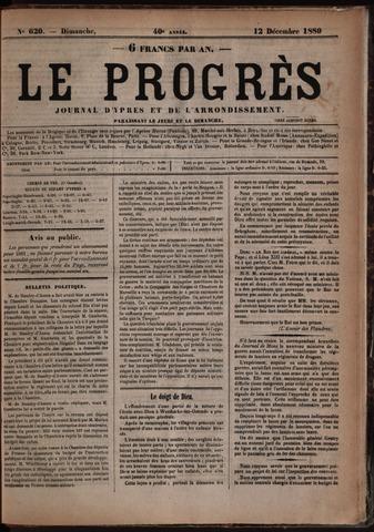 Le Progrès (1841-1914) 1880-12-12