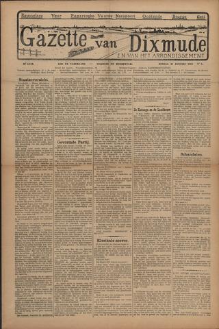 Gazette van Dixmude 1912-01-21