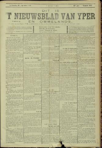 Nieuwsblad van Yperen en van het Arrondissement (1872 - 1912) 1905-09-23