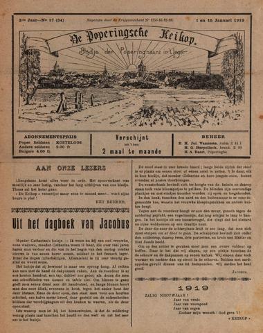De Poperingsche Keikop (1917-1919) 1919-01-01