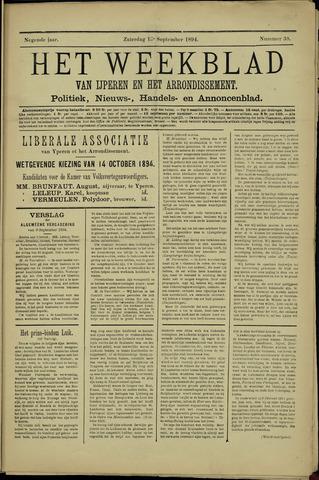 Het weekblad van Ijperen (1886 - 1906) 1894-09-15