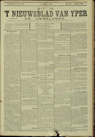 Nieuwsblad van Yperen en van het Arrondissement (1872 - 1912) 1905-07-29