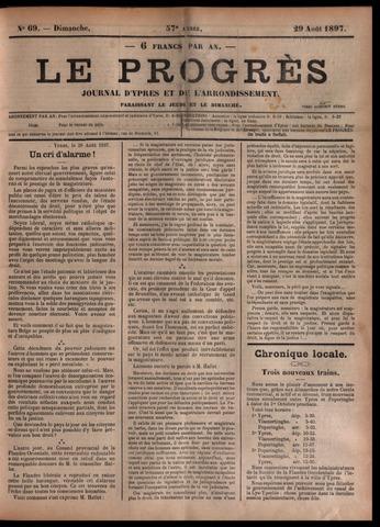 Le Progrès (1841-1914) 1897-08-29