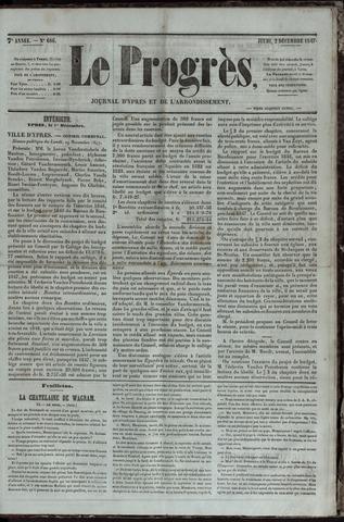 Le Progrès (1841-1914) 1847-12-02