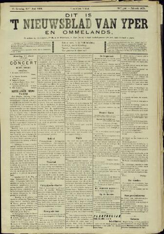 Nieuwsblad van Yperen en van het Arrondissement (1872 - 1912) 1899-06-10