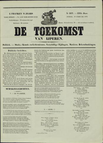De Toekomst (1862 - 1894) 1872-02-18