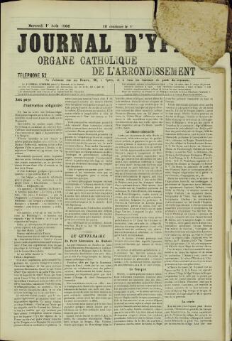 Journal d'Ypres (1874 - 1913) 1906-08-01