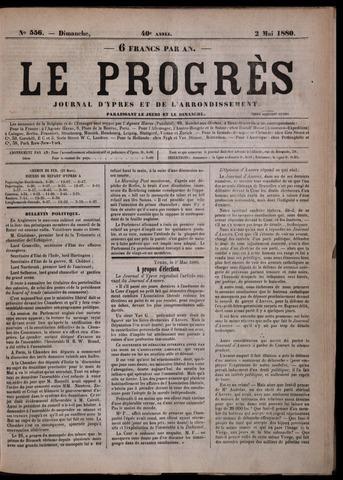 Le Progrès (1841-1914) 1880-05-02