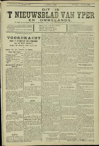 Nieuwsblad van Yperen en van het Arrondissement (1872 - 1912) 1902-02-09