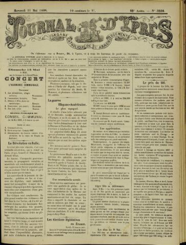 Journal d'Ypres (1874 - 1913) 1898-05-11