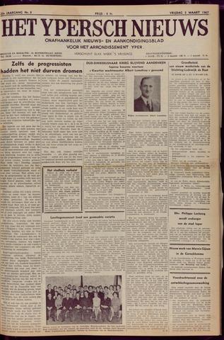Het Ypersch nieuws (1929-1971) 1967-03-03