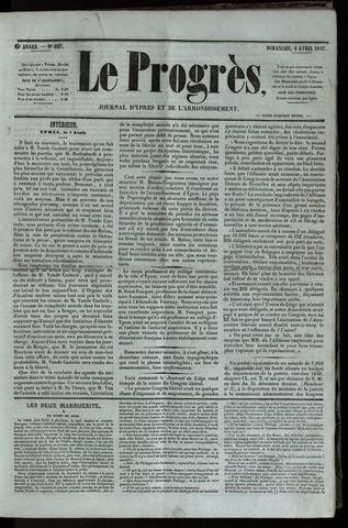 Le Progrès (1841-1914) 1847-04-04