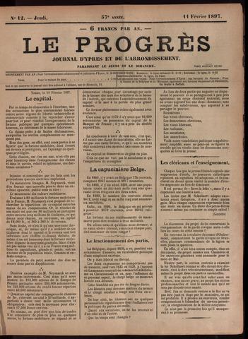 Le Progrès (1841-1914) 1897-02-11