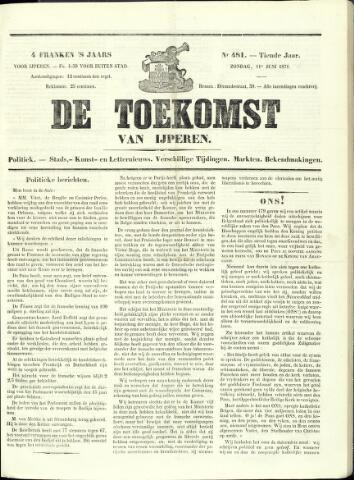 De Toekomst (1862 - 1894) 1871-06-11