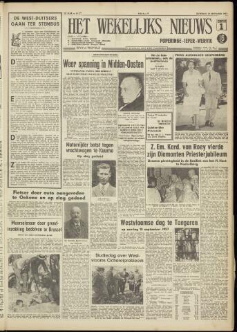 Het Wekelijks Nieuws (1946-1990) 1957-09-14