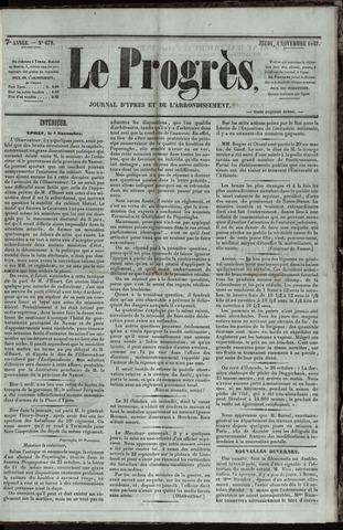 Le Progrès (1841-1914) 1847-11-04