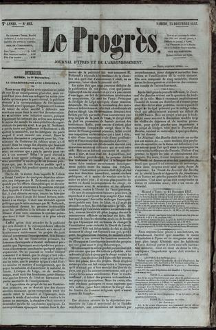 Le Progrès (1841-1914) 1847-12-25