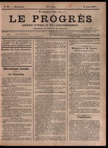 Le Progrès (1841-1914) 1897-08-01