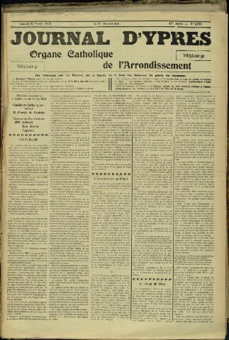 Journal d'Ypres (1874 - 1913) 1912-04-27
