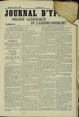 Journal d'Ypres (1874 - 1913) 1906-03-24