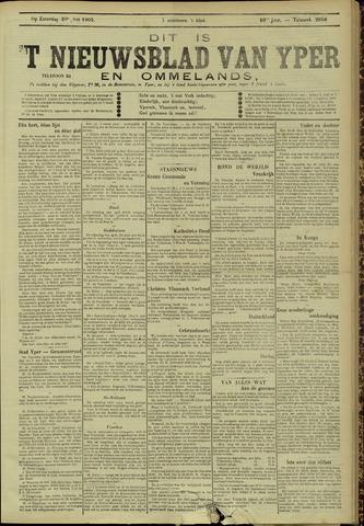 Nieuwsblad van Yperen en van het Arrondissement (1872 - 1912) 1905-05-20