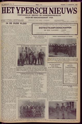 Het Ypersch nieuws (1929-1971) 1966-08-19