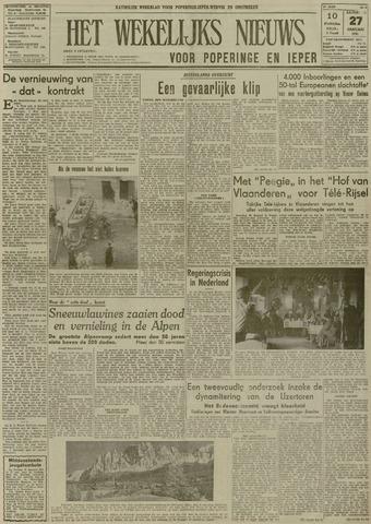 Het Wekelijks Nieuws (1946-1990) 1951-01-27