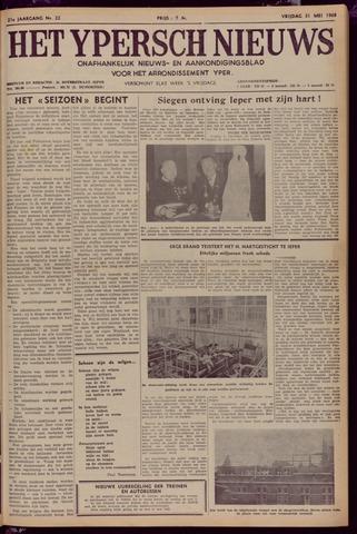 Het Ypersch nieuws (1929-1971) 1968-05-31