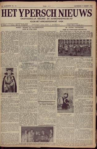 Het Ypersch nieuws (1929-1971) 1961-03-04