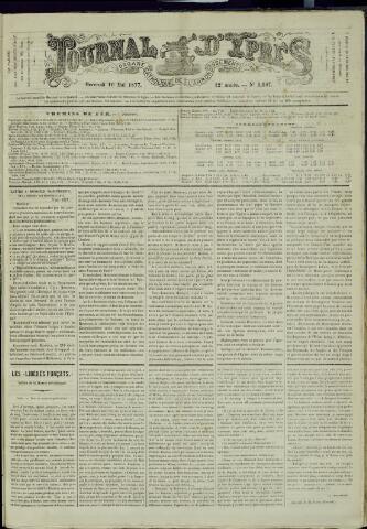 Journal d'Ypres (1874 - 1913) 1877-05-16