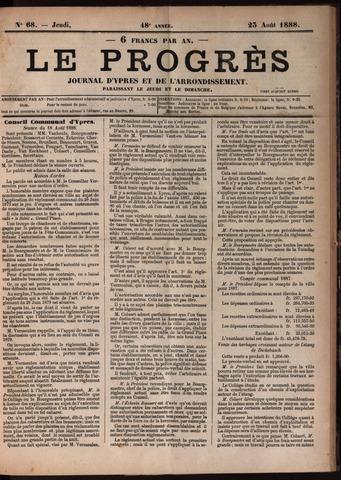 Le Progrès (1841-1914) 1888-08-23
